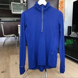 Lululemon Blue Outrun Half Zip Jacket